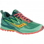 Saucony-Women-s-Peregrine-5-AW15-Offroad-Running-Shoes-Green-Yellow-Coral-AW15-S10268-3